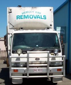 Hervey Bay Removals Truck
